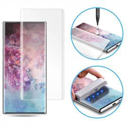 Защитное 3D стекло Mocolo с УФ лампой для Samsung Galaxy Note 20 Ultra