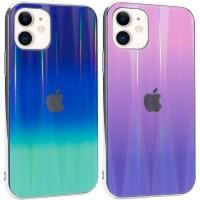 "TPU+Glass чехол Gradient Aurora с лого для Apple iPhone 11 (6.1"")"