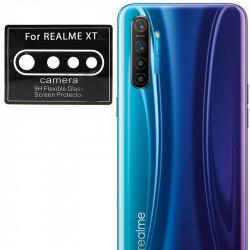 Гибкое защитное стекло 0.18mm на камеру (тех.пак) для Realme XT