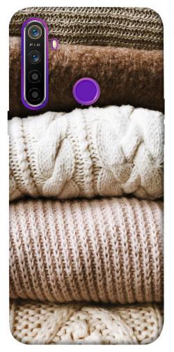 Чехол itsPrint Knitted aesthetics для Realme 5