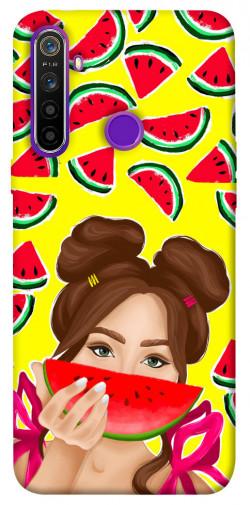 Чехол itsPrint Watermelon girl для Realme 5