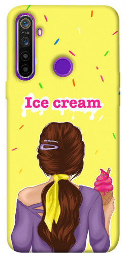 Чехол itsPrint Ice cream girl для Realme 5