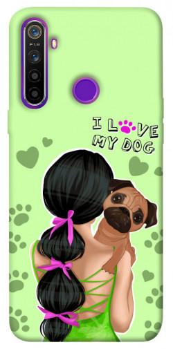 Чехол itsPrint Love my dog для Realme 5