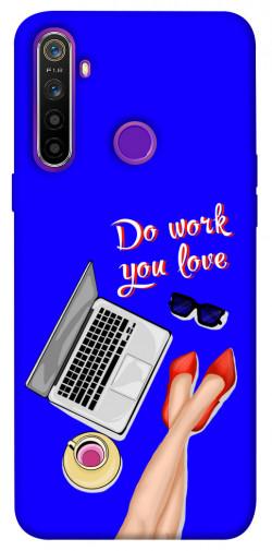 Чехол itsPrint Do work you love для Realme 5