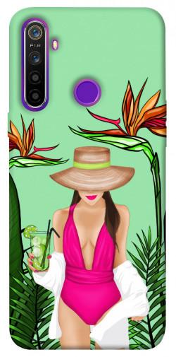 Чехол itsPrint Tropical girl для Realme 5