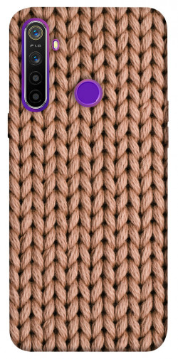 Чехол itsPrint Knitted texture для Realme 5