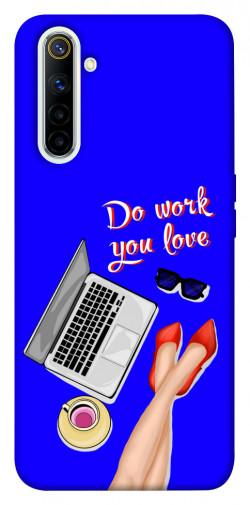 Чехол itsPrint Do work you love для Realme 6