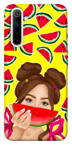 Чехол itsPrint Watermelon girl для Realme 6
