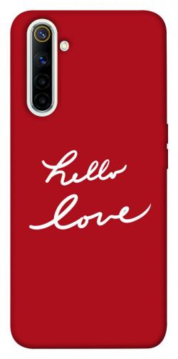 Чехол iPrint Hello love для Realme 6