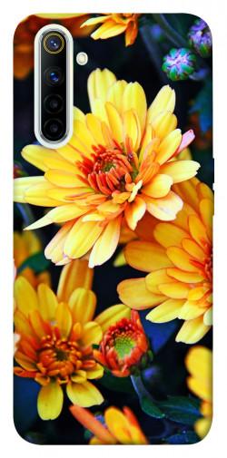 Чехол itsPrint Yellow petals для Realme 6