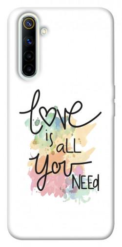 Чехол iPrint Love is all you need для Realme 6