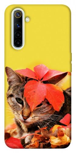 Чехол itsPrint Осенний котик для Realme 6