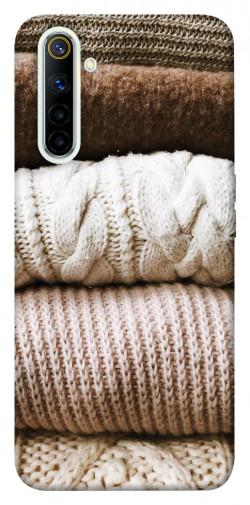 Чехол itsPrint Knitted aesthetics для Realme 6