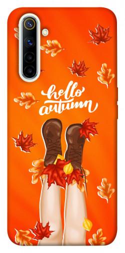 Чехол itsPrint Hello autumn для Realme 6
