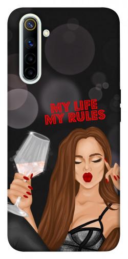 Чехол itsPrint My life my rules для Realme 6