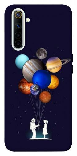 Чехол iPrint Галактика для Realme 6