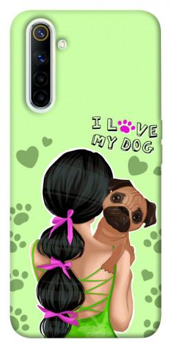 Чехол itsPrint Love my dog для Realme 6