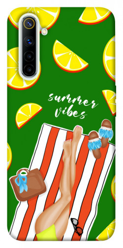 Чехол itsPrint Summer girl для Realme 6
