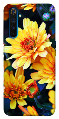 Чехол itsPrint Yellow petals для Realme 6 Pro