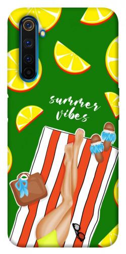 Чехол itsPrint Summer girl для Realme 6 Pro