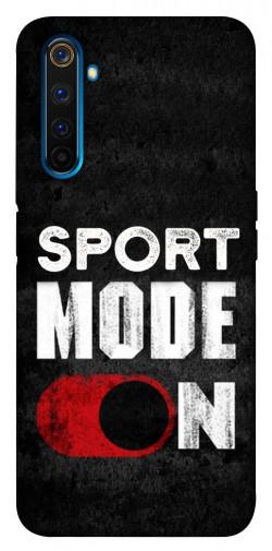 Чехол itsPrint Sport mode on для Realme 6 Pro