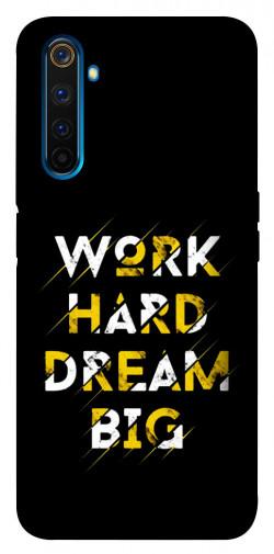 Чехол itsPrint Work hard для Realme 6 Pro