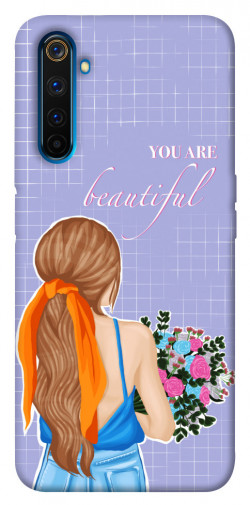 Чехол itsPrint You are beautiful для Realme 6 Pro