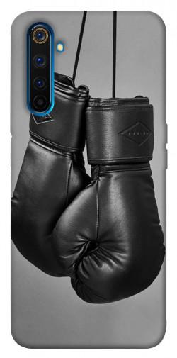 Чехол itsPrint Черные боксерские перчатки для Realme 6 Pro