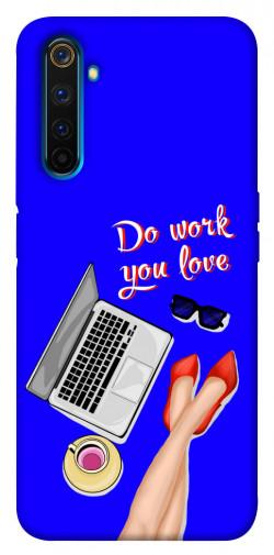 Чехол itsPrint Do work you love для Realme 6 Pro