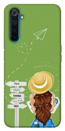 Чехол itsPrint Travel girl для Realme 6 Pro