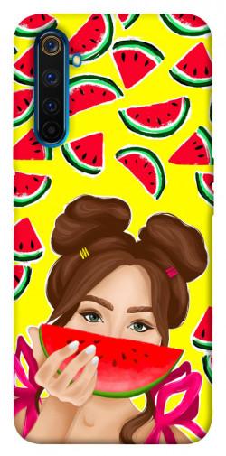 Чехол itsPrint Watermelon girl для Realme 6 Pro