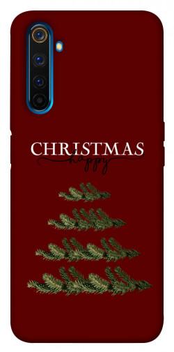 Чехол iPrint Счастливого Рождества для Realme 6 Pro