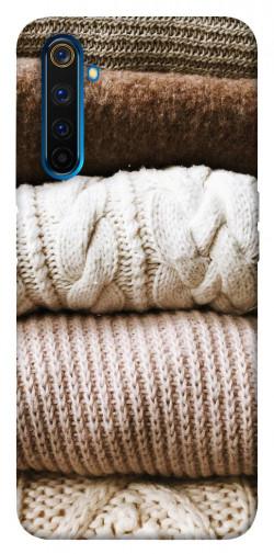 Чехол itsPrint Knitted aesthetics для Realme 6 Pro