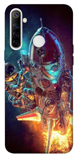 Чехол itsPrint Космический корабль для Realme 6i