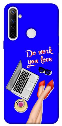 Чехол itsPrint Do work you love для Realme 6i