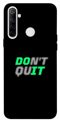 Чехол itsPrint Don't quit для Realme 6i