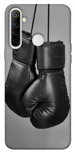 Чехол itsPrint Черные боксерские перчатки для Realme 6i