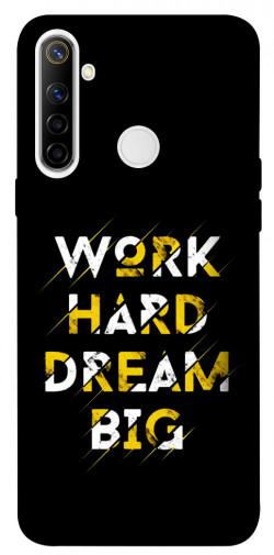 Чехол itsPrint Work hard для Realme 6i