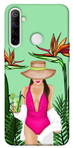 Чехол itsPrint Tropical girl для Realme 6i
