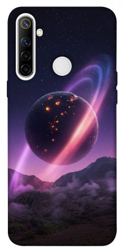 Чехол itsPrint Сатурн для Realme 6i