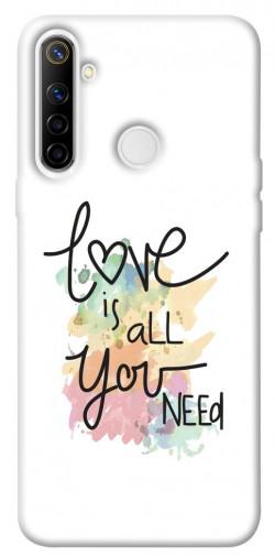 Чехол iPrint Love is all you need для Realme 6i