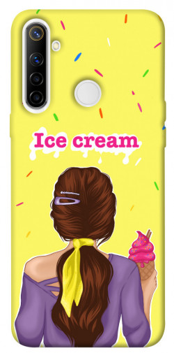 Чехол itsPrint Ice cream girl для Realme 6i