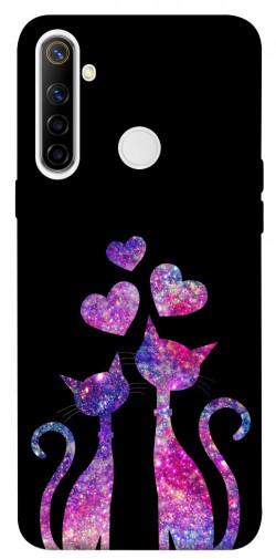 Чехол iPrint Космические коты для Realme 6i
