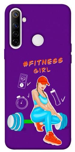Чехол itsPrint Fitness girl для Realme 6i