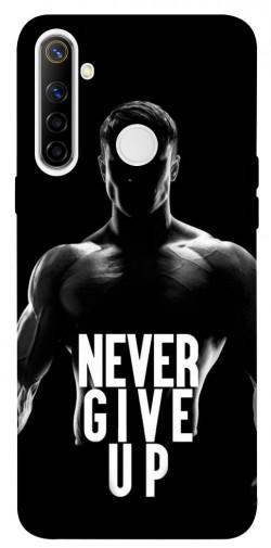Чехол itsPrint Never give up для Realme 6i