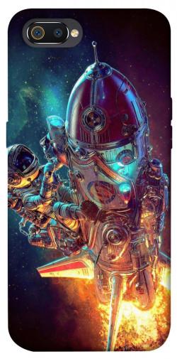 Чехол itsPrint Космический корабль для Realme C2