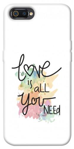 Чехол iPrint Love is all you need для Realme C2