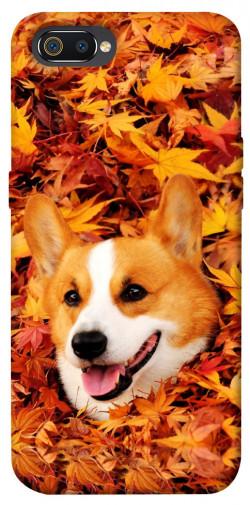 Чехол itsPrint Корги в листьях для Realme C2