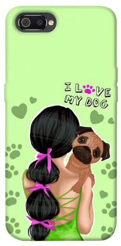 Чехол itsPrint Love my dog для Realme C2