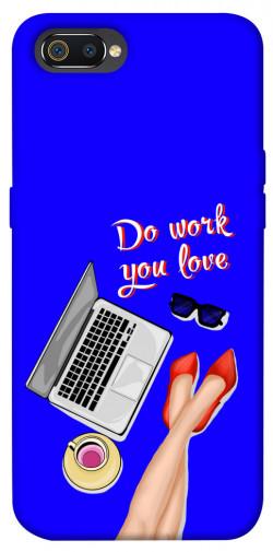 Чехол itsPrint Do work you love для Realme C2